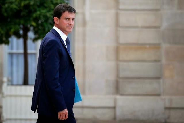 Manuel Valls, premier ministre français