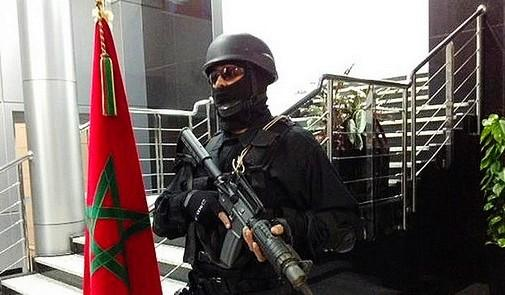 Un agent de la BCIJ à Casablanca