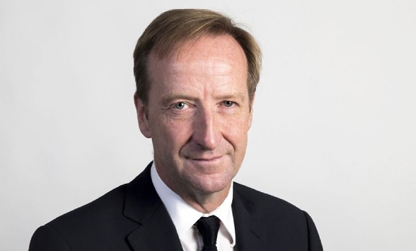 Alex Younger, chef de l'agence secret MI6 à Londres