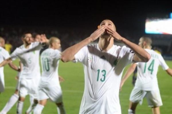 CAN 2017: l'Algérie s'impose 4-0 contre les Seychelles