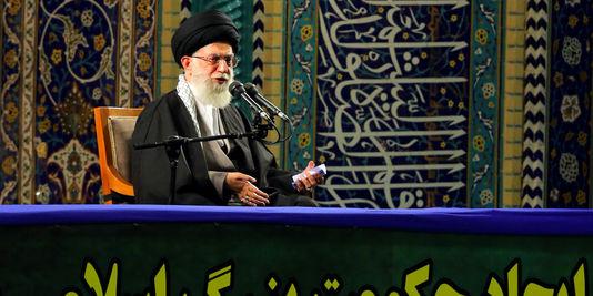 Ayatollah Khamenei, le guide suprême de l'Iran