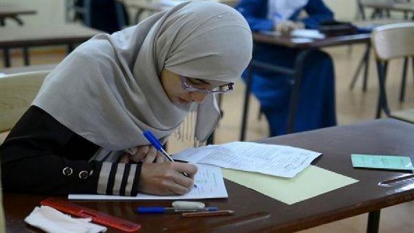 Candidate au baccalauréat 2015 en Algérie