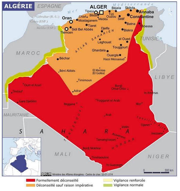 Les risque du terrorisme au Maghreb