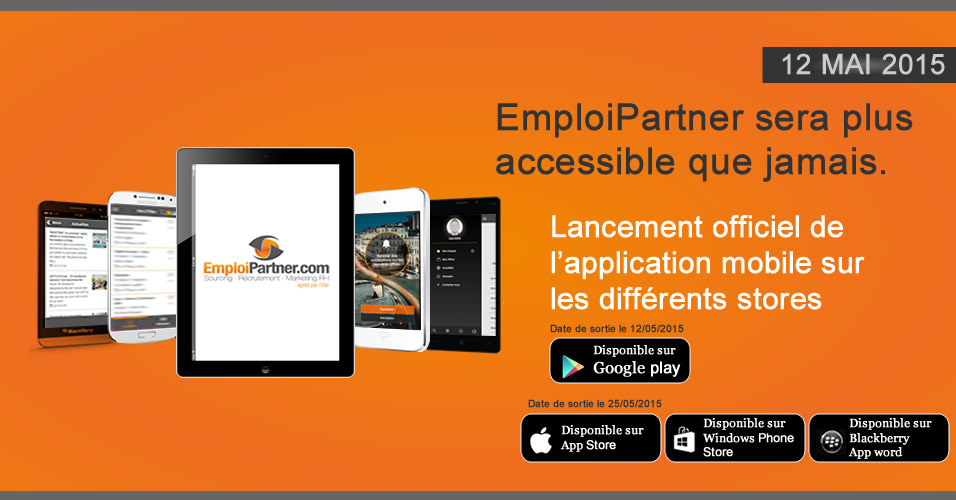 Les applications mobiles disponible dans les apps store