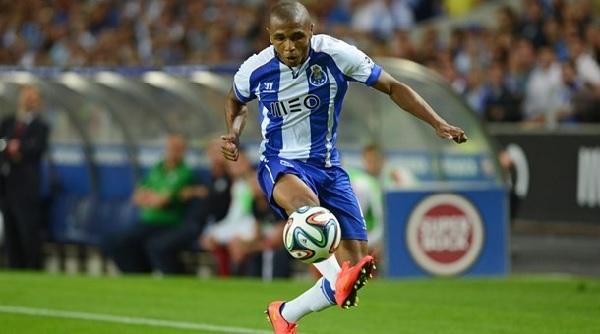 Yacine Brahimi, le milieu de terrain de FC Porto