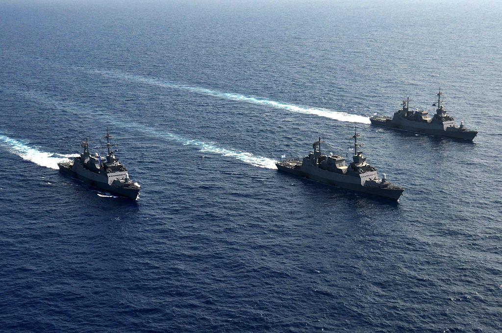 Les forces navales israéliennes à Gaza