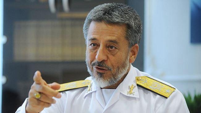 habibollah Sayyari, commandant de l'armée maritime de l'Iran