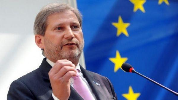 Johannes Hahn, chargé de la politique européenne de voisinage