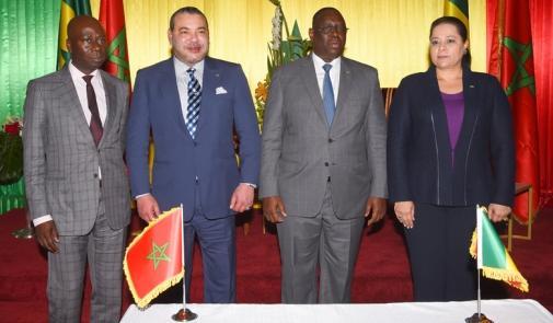 Partenariat économique: le Maroc et le Sénégal ont signé 15 accords