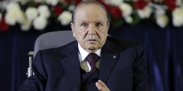 Abdelaziz Bouteflika, le président de la républiqué algérienne