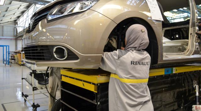 Usine Renault en Algérie