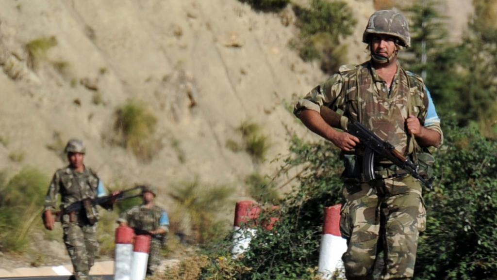 Les soldats de l'armée algérienne