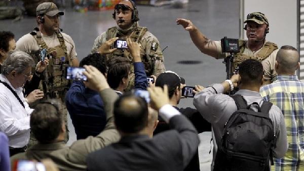 Les policiers ont abattus deux assaillants lors d'un concours de caricatures de Mahomet